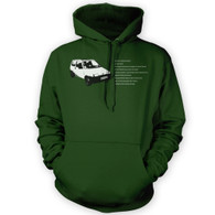 Fiat Inbetweeners Hooded Jumper (Unisex)