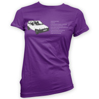 Fiat Inbetweeners Woman's T-Shirt