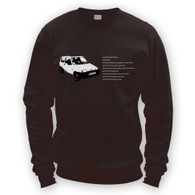 Fiat Inbetweeners Sweatshirt Jumper (Unisex)