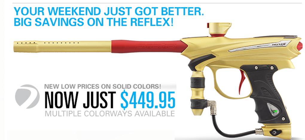 Proto Reflex Paintball Gun