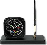 Aviation Clock/ Desk Pen Set - VOR