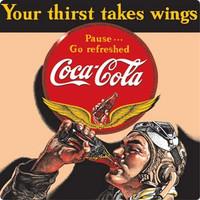 Coke Aviator Magnet