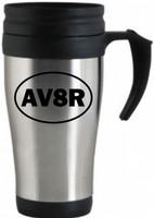 """AV8R"" Travel Mug"