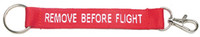 Remove Before Flight Keychain with Clip KC-CLRM