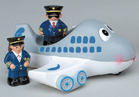 Airplane Tub Toy FM-TTA