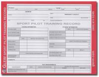 Gleim Sport Pilot Training Record book  G-SP-TR