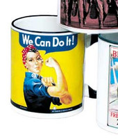 Rosie The Riveter Mug  MG-RR