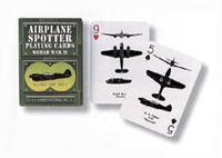 1943 Civil Defense Ground Observer Spotter Cards (replica deck) Green Deck AN-DECK