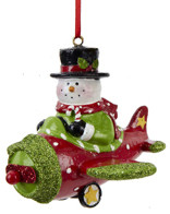 Snowman Ornament OR-S&S(Snowman)