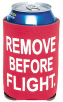Remove Before Flight Can Koozie CAN COOLER-RBF