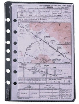 Jeppesen 3 Pack of Sheet Protectors  10001300-000