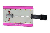 Powder Puff Pilot Luggage Tag ppptag