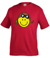 Youth Smiley Pilot Shirt KW-ASF