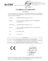 Certificate of Conformity - SkySupplyUSA