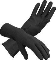 Nomex Flight Gloves in Black  - SkySupplyUSA