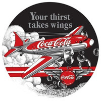 Coke-DC3-Porcelain Magnet Magnet-Coke-DC3