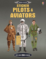 Pilots & Aviators Sticker Book Sticker Book