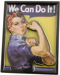 Born Rosie The Riveter 2D Magnet MA-ERR
