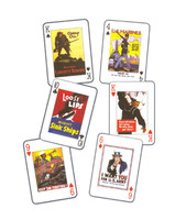 Born USA Posters of WW I & II playing cards AN-USA