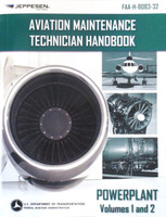 Jeppesen Handbook: A&P Mechanics Powerplant - Volume 1 & 2 10001393-003 ISBN: 0-88487-582-2