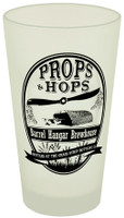 Props and Hops Frosted Pint Glass  DW-PH