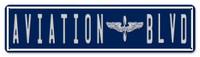 """Aviation Blvd Sign - 20"""" x 5"""" SIGN-AVBLD-20"""