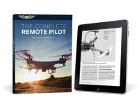 eBundle = Print Book + eBook PDF Download Code    This textbook is for anyone interested in pursuing and obtaining a Remote Pilot certificate, which is required in order to operate drones for commercial use. With a friendly and readable style, the authors cover all of the details involved in becoming a competent, responsible, and safe remote pilot, opening up tremendous opportunities for flying increasingly affordable and sophisticated small unmanned aircraft systems (sUAS).  An FAA Knowledge Exam is a requirement for earning a Remote Pilot certificate. The Complete Remote Pilot is designed to not only prepare you for the exam but to teach you about how UAS fly, their components and systems, and the aeronautical knowledge required to fly these systems in the same airspace as large commercial jets. This book covers specifics on the language of drones, regulations, airspace and navigation, airport and off-airport operations, radio communication procedures, weather, aerodynamics and aircraft performance, emergency procedures, human factors, maintenance, and preflight inspection procedures.  The required aeronautical knowledge is augmented with specific tips and techniques, checklists and mnemonic devices, and sound advice from personal experience. You'll benefit from the review questions for each chapter similar to the type found on the FAA test, a comprehensive glossary, and index. This practical application of the knowledge needed to pass the FAA Exam is not available in any other book! You will gain the knowledge needed to pass the test and understand how to operate safely as a remote pilot in the U.S. National Airspace System.  ISBN: 978-1-61954-566-3
