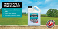Fenwicks Waste Pipe & Tank Cleaner - Perfect for cleaning grey water systems