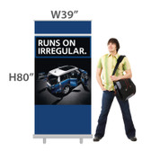W39 inches ECONOMY! Retractable Banner (Fabric)