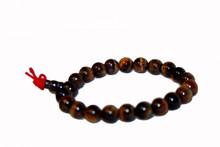 Tibet Tiger Eye Hand Malla Prayer Beads