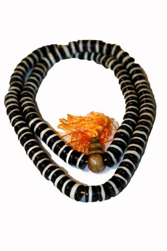 Tibet Bone Malla Yak Bone Prayer Beads. At Tibet Spirit Store