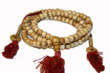 Tibet Bone Mallas Prayer Beads. At Tibet Spirit Store
