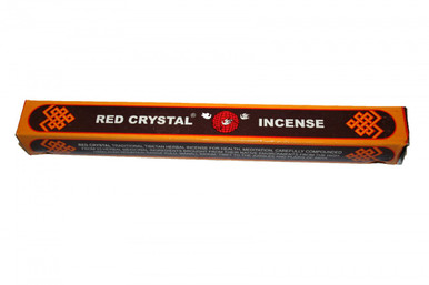 Tibet Red Crystal Incense. Original by the Drikung Charitable Society. At Tibet Spirit Store.