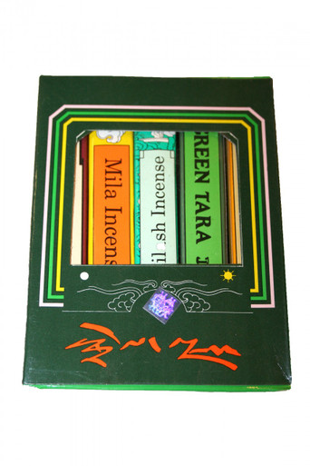 Tibet Green Tara Incense Gift Pack. Only at Tibet Spirit Store