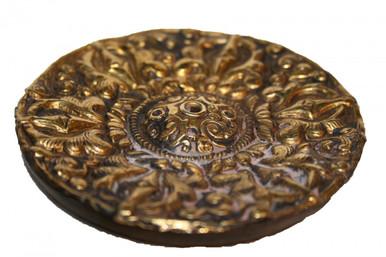 Gilded Incense Burner. Handmade. At Tibet Spirit Store