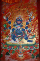 Tibetan Mahakala ThangkaHanging Scroll. At Tibet Spirit Store