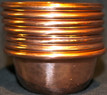 Tibetan Water Offering Copper  Bowls, Set of Seven