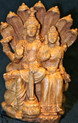 Rama and Sita Statue At Tibet Spirit Store.