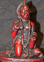 Hanuman Resin Statue At Tibet Spirit Store.
