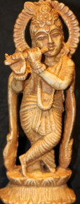 Hare Krishna Resin Statue At Tibet Spirit Store.