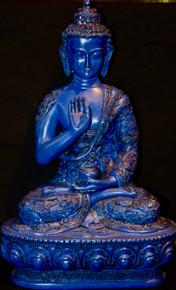 Vairochana Buddha, In Tibetan Nampar Nangdzé Resin Statue, Tibet Spirit Store.