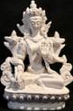 White Tara Buddhist Goddess of Compassion and Longevity Statue
