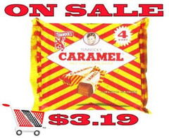 Tunnock's Caramel Wafer Biscuits 4 Pack