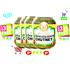Chief Shadon Beni Chutney Buy 3 Get 1 Free