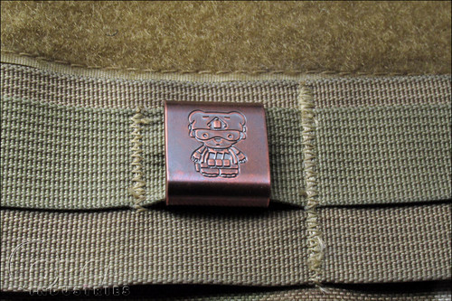 Steel Flame - Kuma Korps - Advanced War Bear - MOLLE Clip - Copper