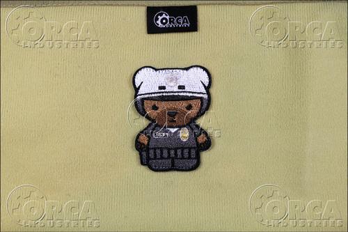 Kuma Korps - Police Bear - Morale Patch - Color