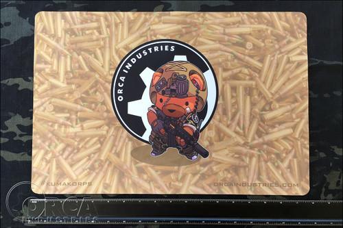 """Kuma Korps - War Bear 18"""" x 12"""" Workmat - Artwork by Chris Ha"""