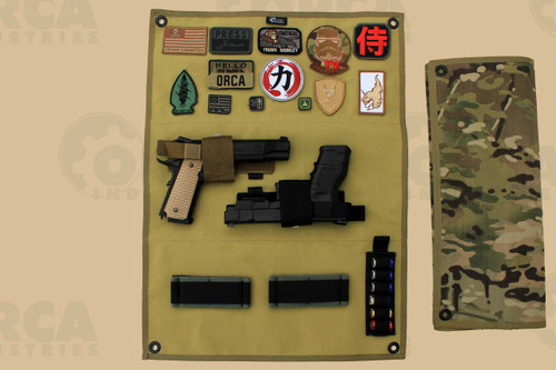 *Patches and Gear Pictured are NOT included.  Gear pictured: Hazard 4 - Stick Up, Modular Holster; MSM - Loop Panels; OSOE - Shotgun Card