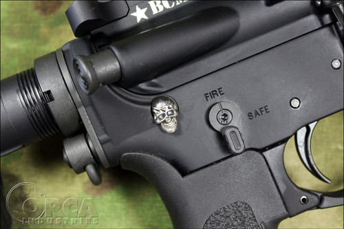 Steel Flame - AR Takedown Pin - Darkness -Sterling Silver