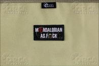 Mandalorian as F*ck - Morale Patch - Color